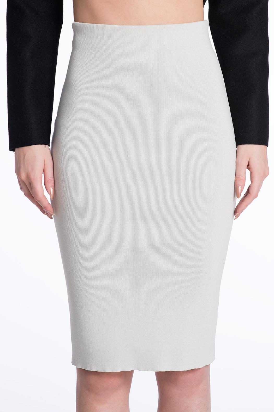 Charlie May Knit Pencil Skirt - Front Cropped Image