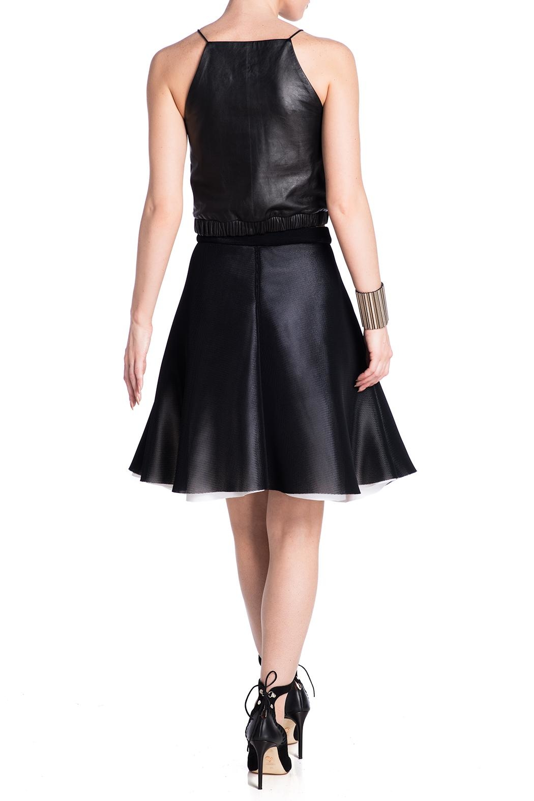 Charlie May Mesh Skirt - Side Cropped Image