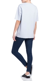 Charlie May Neoprene Blue Tee - Other