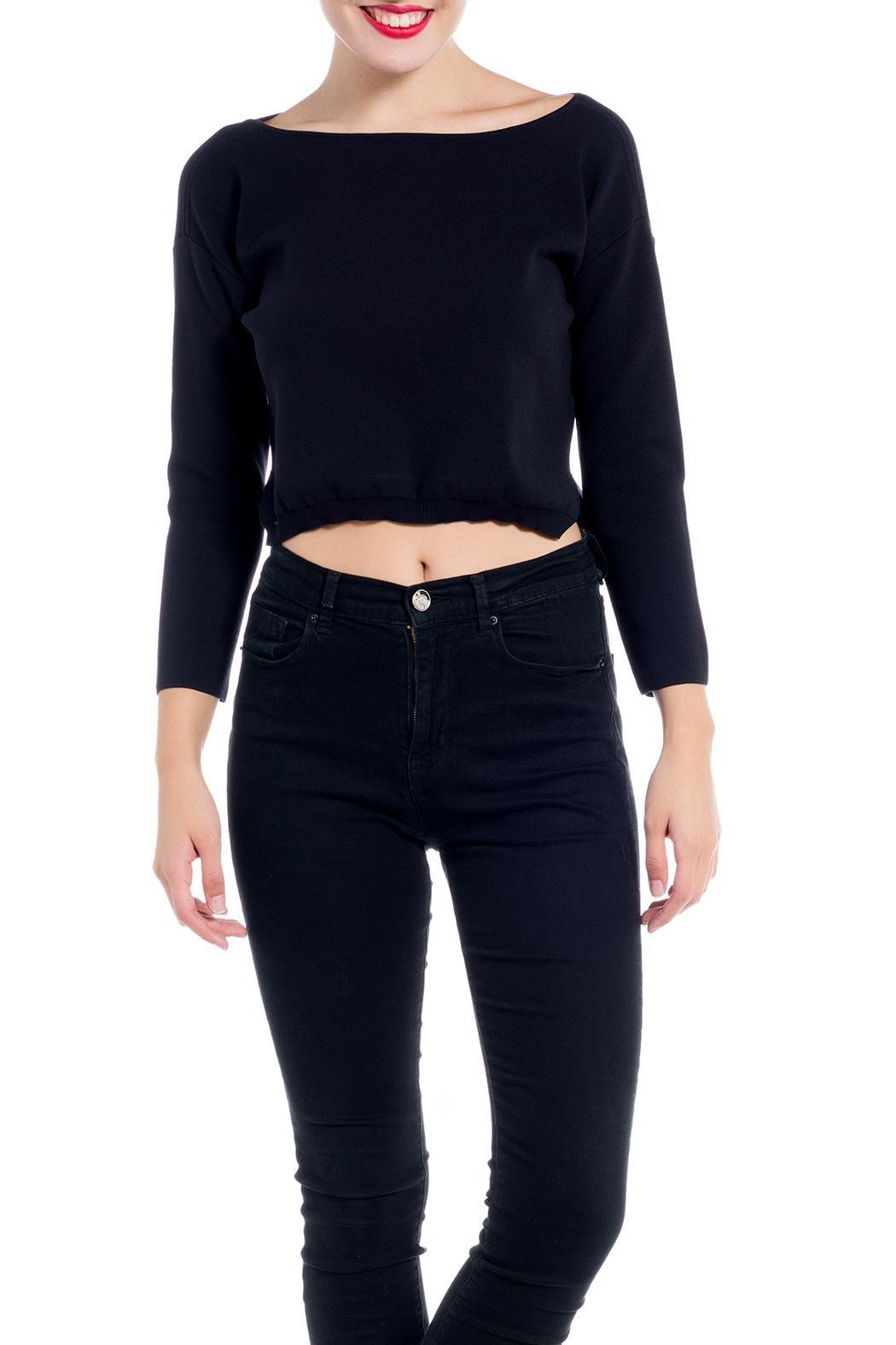 Charlie May Open Neck Sweater - Main Image