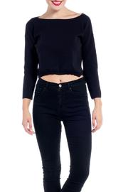 Charlie May Open Neck Sweater - Product Mini Image