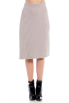 Shoptiques Product: Ribbed Wrap Skirt