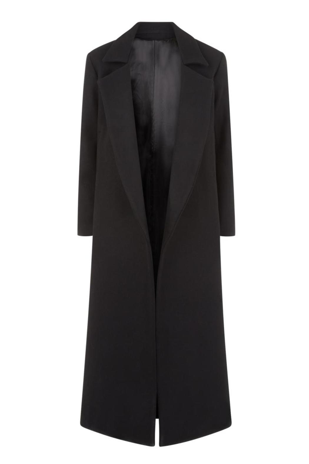 Charlie May Wool Duster Coat - Side Cropped Image