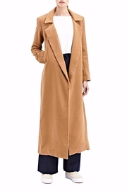 Charlie May Wool Duster Coat - Product Mini Image