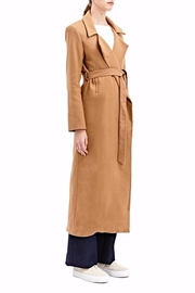 Charlie May Wool Duster Coat - Side cropped