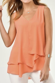 Charlie Paige Asymmetrical Chiffon Top - Product Mini Image