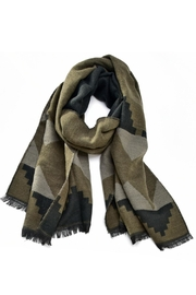 Charlie Paige Aztec Scarf - Front cropped
