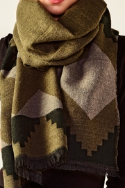 Charlie Paige Aztec Scarf - Front full body