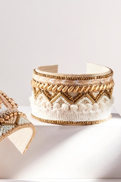 Charlie Paige Beaded/ Embroidered  Cuff - Alternate List Image