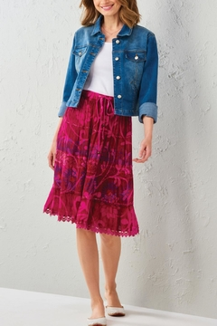 Shoptiques Product: Boho Batik Skirt