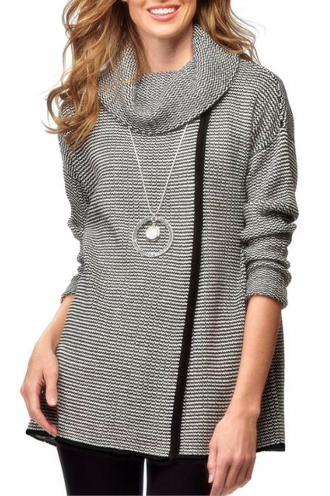 Charlie Paige Chandal Cowl Sweater - Main Image