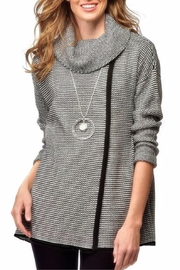 Charlie Paige Chandal Cowl Sweater - Front cropped
