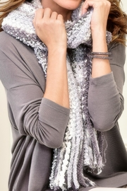 Charlie Paige Chunky Knit Scarf - Front cropped