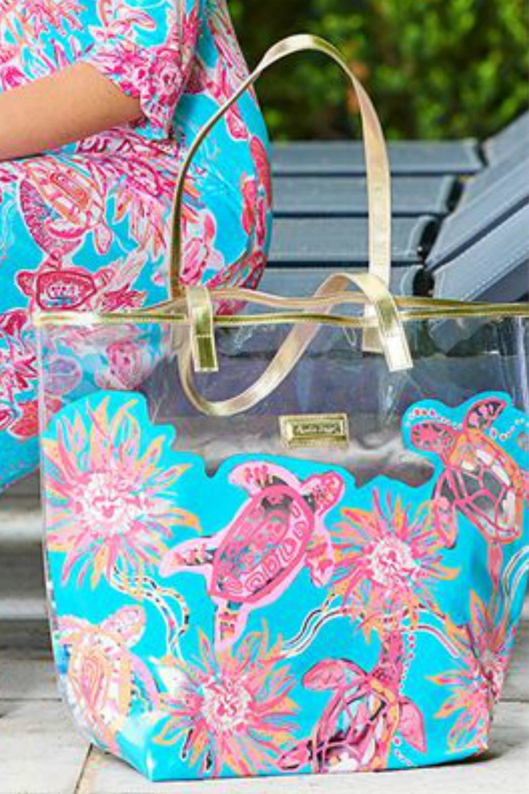 Charlie Paige Clear Printed Tote - Main Image