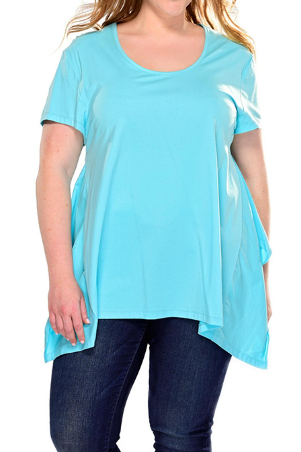 Charlie Paige Curvy Loose Fit Top - Front Cropped Image