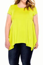 Charlie Paige Curvy Loose Fit Top - Front cropped