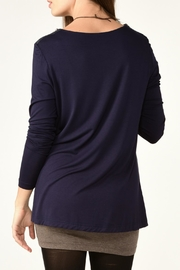 Charlie Paige Double Layered Tunic Top - Front full body