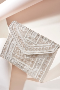 Charlie Paige Embellished Clutch Purse - Product List Image