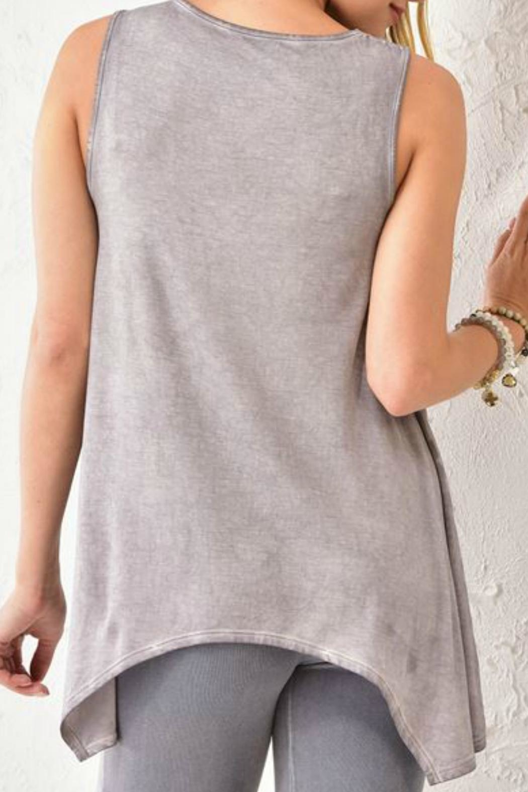 Charlie Paige Embroidered Tunic - Front Full Image