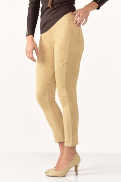 Shoptiques Product: Faux Suede Leggings