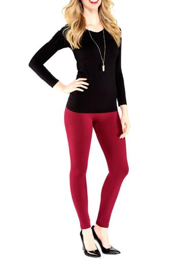 Charlie Paige Fleece Lined Leggings From Virginia By Mary