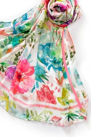 Charlie Paige Floral Print Scarf - Product Mini Image