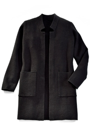 Charlie Paige Go To Knit Coat - Front full body