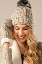 Charlie Paige Hat & Mitten Set - Product Mini Image