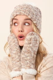Charlie Paige Hat & Mitten Set - Front cropped
