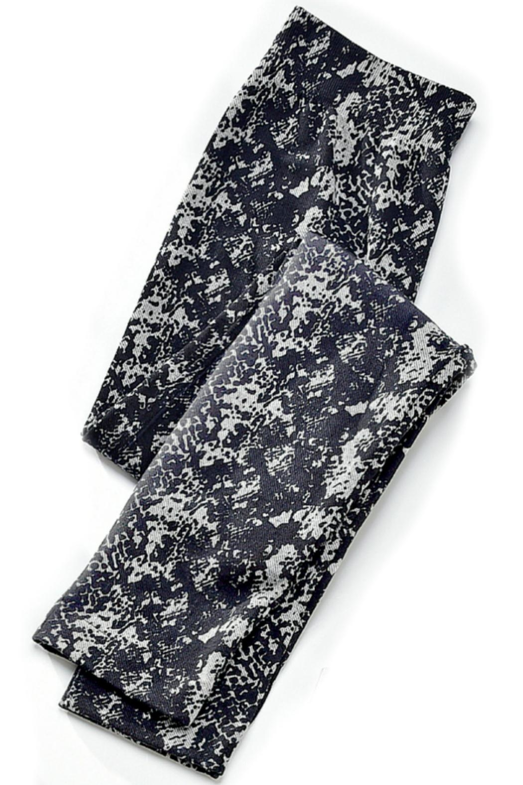 Charlie Paige Jersey Lined Leggings - Front Cropped Image