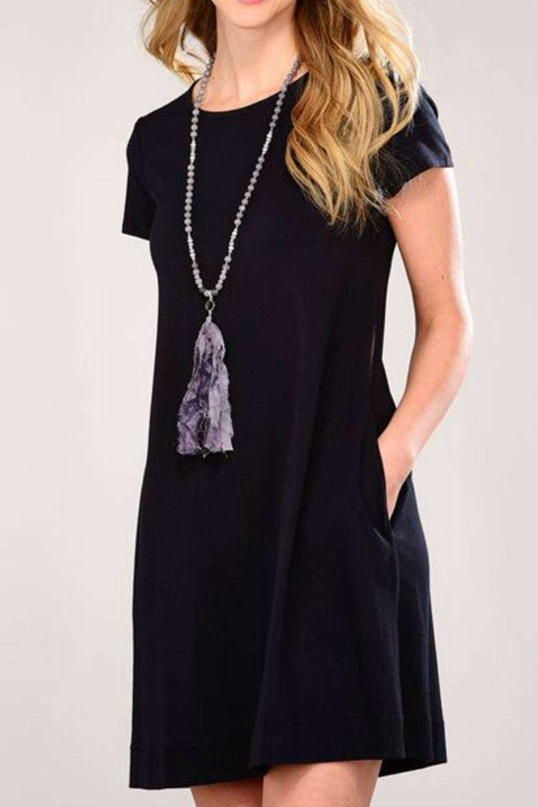 Charlie Paige Jersey T-Shirt Tunic/dress - Front Cropped Image