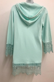 Charlie Paige Lace Hoodie - Front full body