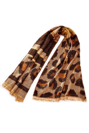 Charlie Paige Leopard Scarf - Product Mini Image