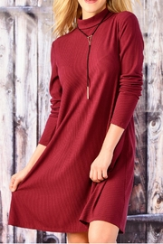 Charlie Paige Long Sleeve A Line Dress - Product Mini Image
