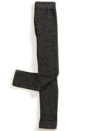 Charlie Paige Metallic-Thread Fleece-Lined Leggings - Front cropped