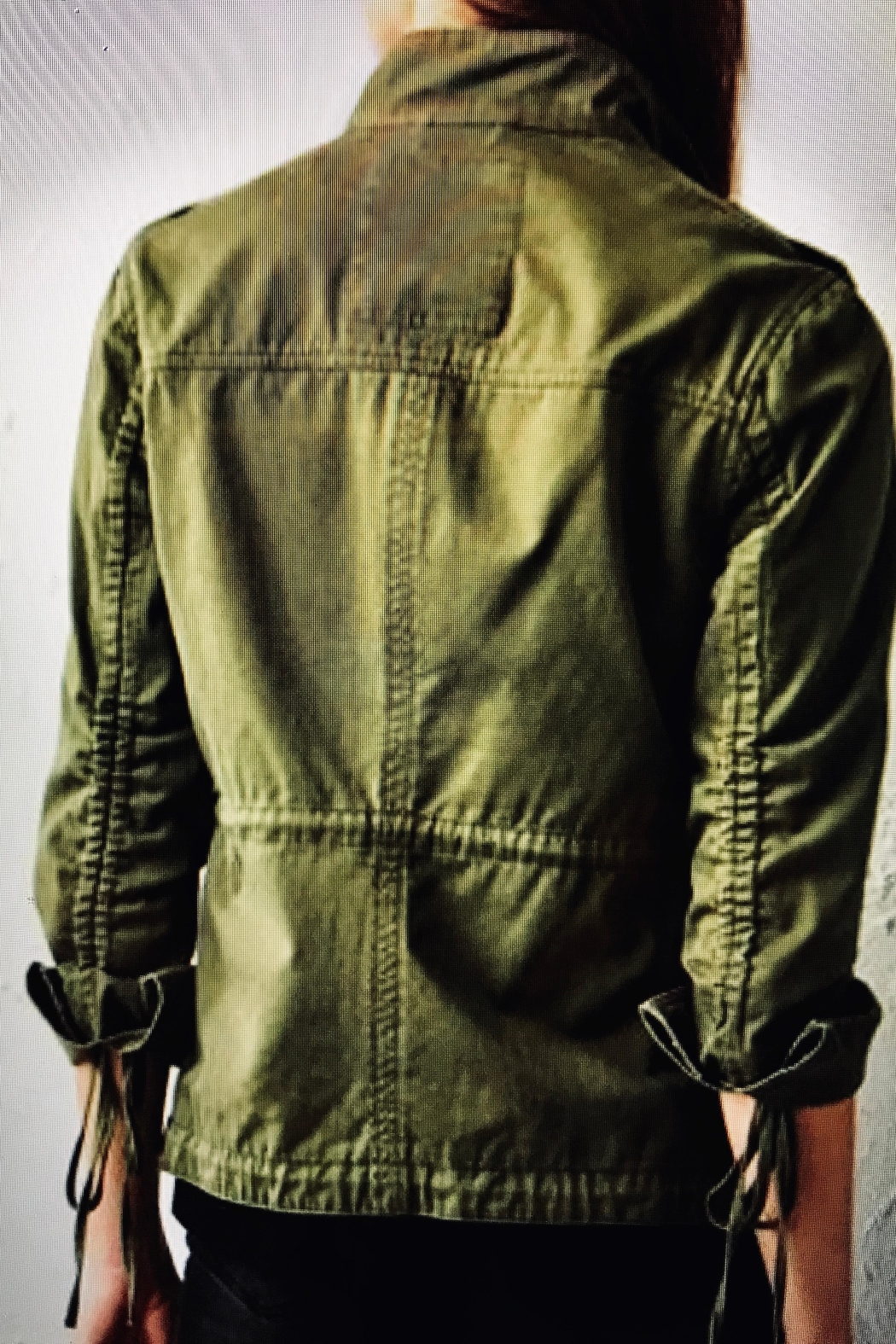 Charlie Paige Military Jacket - Front Full Image
