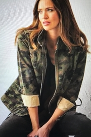 Charlie Paige Military Jacket - Front full body