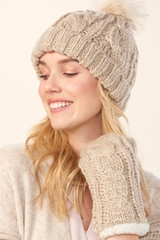 Charlie Paige Mitten & Hat Set - Front cropped