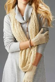 Charlie Paige Open-Knit Infinity Scarf - Product Mini Image