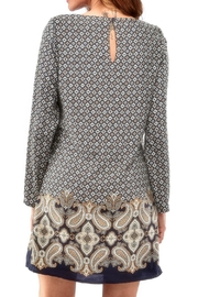 Charlie Paige Paisley Tunic Dress - Front full body
