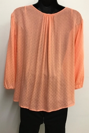 Charlie Paige Pleated Blouse - Front full body