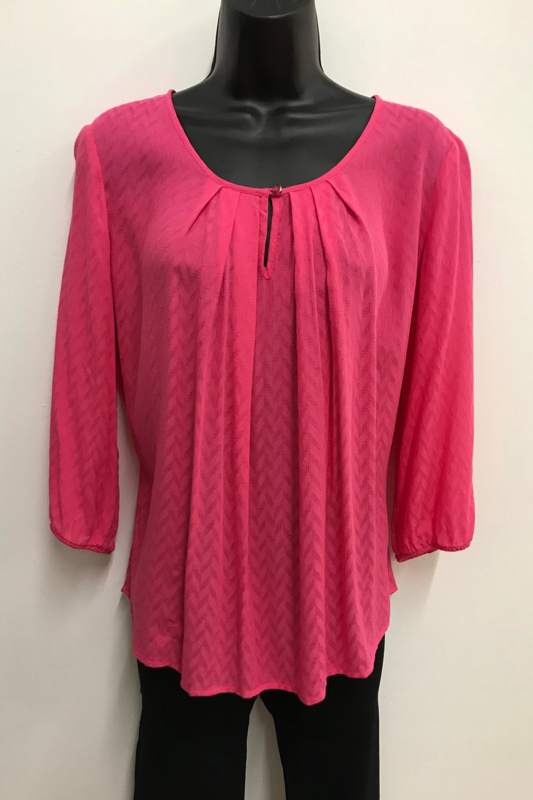 Charlie Paige Pleated Blouse - Main Image