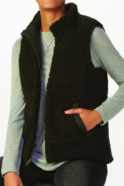 Charlie Paige Reversible Quilted Jacket - Front full body