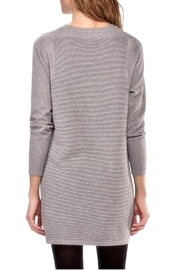Charlie Paige Ribbed Knit Dress - Front full body
