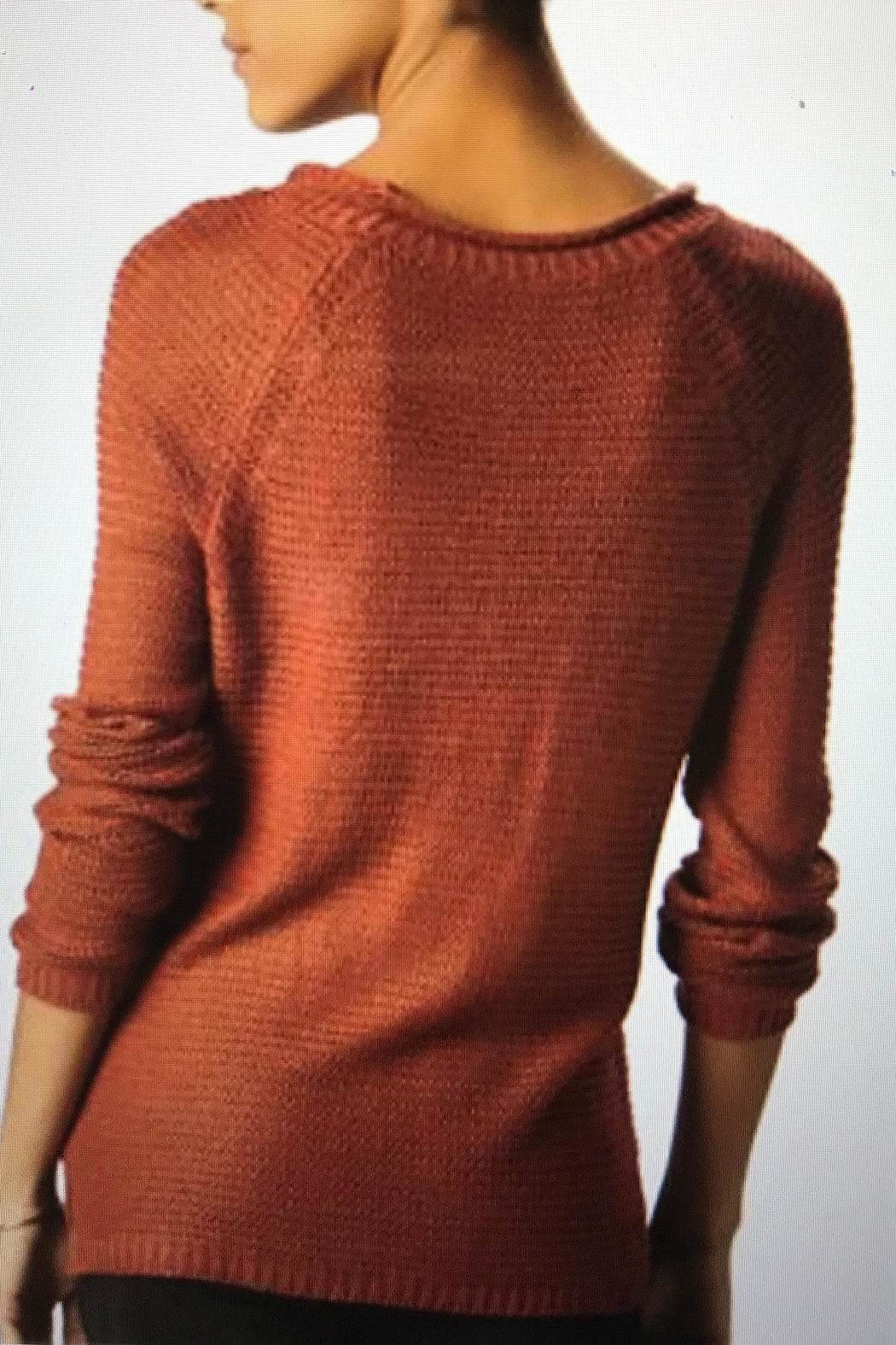 Charlie Paige Roll Neck Sweater - Front Full Image