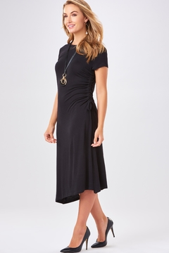 Charlie Paige Side Ruched Dress - Product List Image