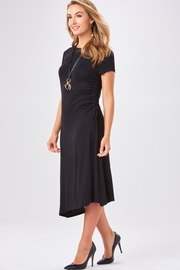 Charlie Paige Side Ruched Dress - Product Mini Image