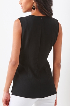 Charlie Paige Sleeveless Fitted Tunic - Alternate List Image