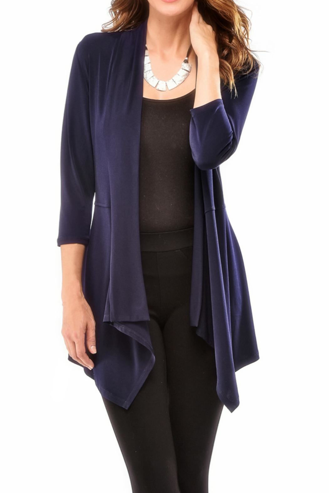 Charlie Paige Slimming Cardigan Sweater - Front Cropped Image
