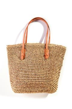 Shoptiques Product: Straw Tote Bag